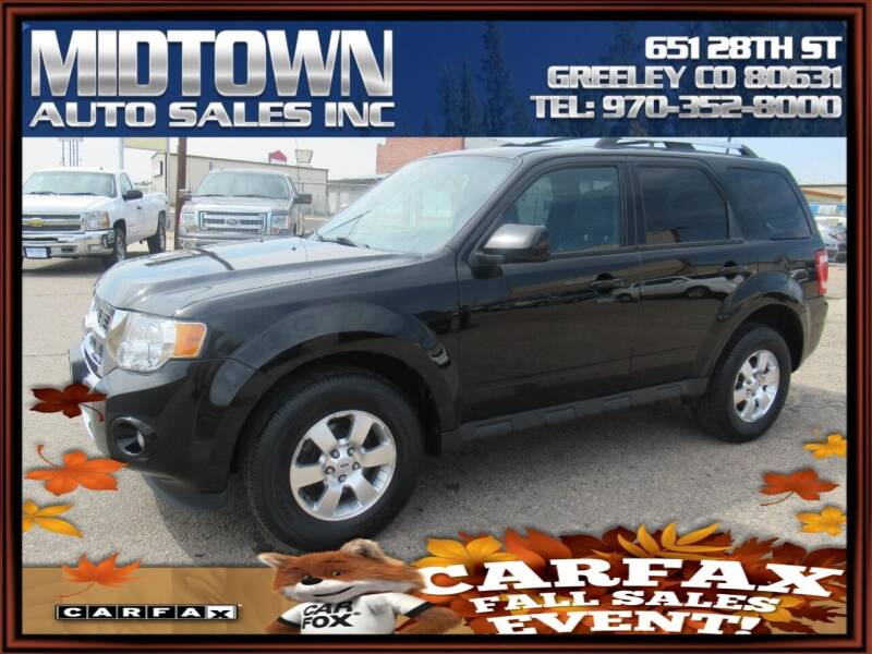 2012 Ford Escape for sale at MIDTOWN AUTO SALES INC in Greeley CO