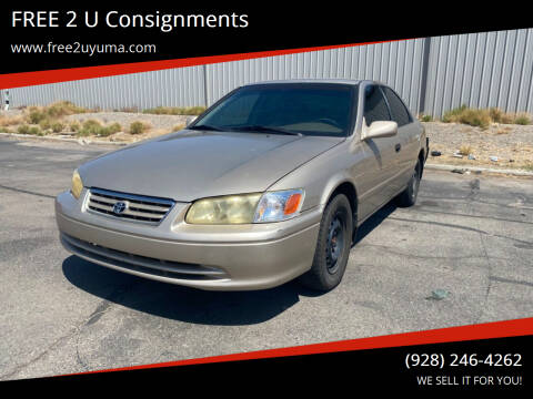 2000 Toyota Camry for sale at FREE 2 U Consignments in Yuma AZ