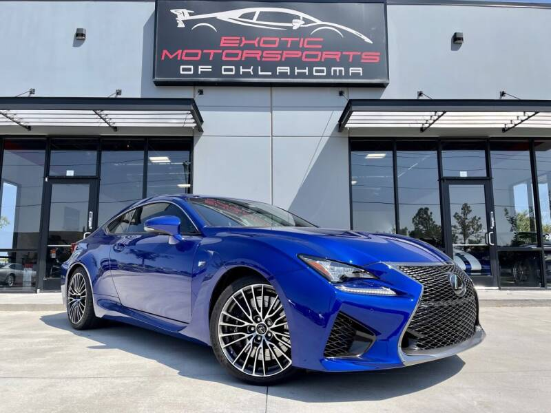2015 Lexus RC F for sale at Exotic Motorsports of Oklahoma in Edmond OK