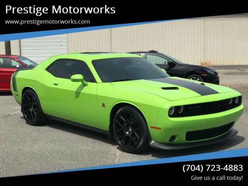 2015 Dodge Challenger for sale at Prestige Motorworks in Concord NC