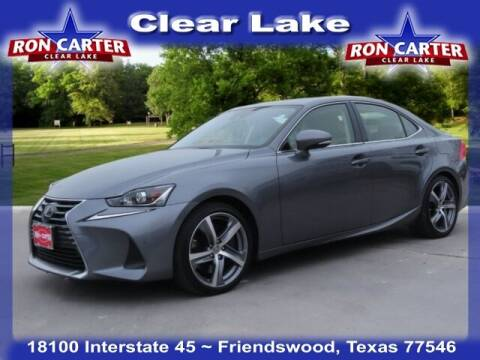 2018 Lexus IS 300 for sale at Ron Carter  Clear Lake Used Cars in Houston TX