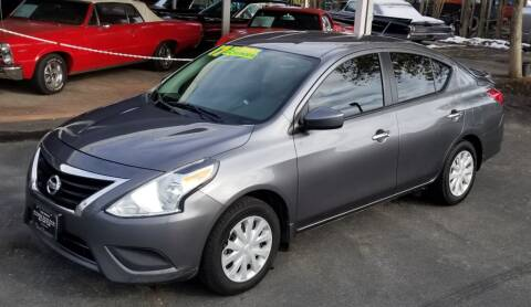 2017 Nissan Versa for sale at Vehicle Liquidation in Littlerock CA