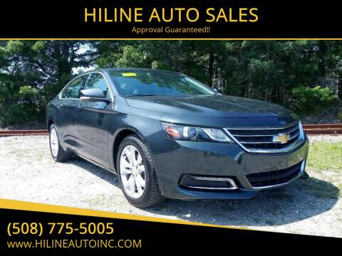 2018 Chevrolet Impala for sale at HILINE AUTO SALES in Hyannis MA
