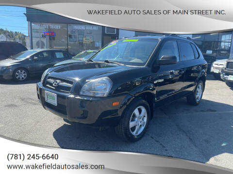 2007 Hyundai Tucson for sale at Wakefield Auto Sales of Main Street Inc. in Wakefield MA