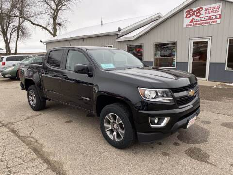 2017 Chevrolet Colorado for sale at B & B Auto Sales in Brookings SD