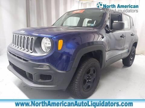 2016 Jeep Renegade for sale at North American Auto Liquidators in Essington PA