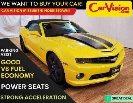 2012 Chevrolet Camaro for sale at Car Vision Mitsubishi Norristown in Trooper PA