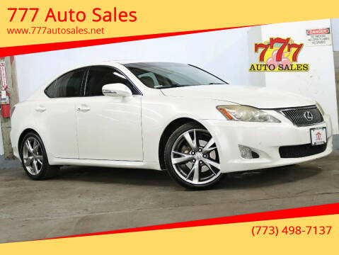 2010 Lexus IS 250 for sale at 777 Auto Sales in Bedford Park IL