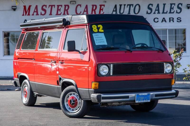 1982 Volkswagen Vanagon for sale at Mastercare Auto Sales in San Marcos CA