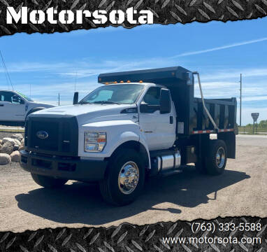 2017 Ford F-750 Super Duty for sale at Motorsota in Becker MN