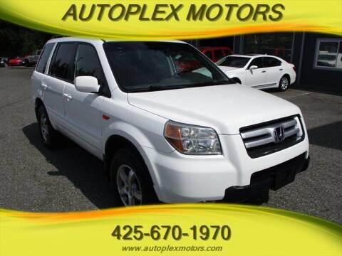 2006 Honda Pilot for sale at Autoplex Motors in Lynnwood WA