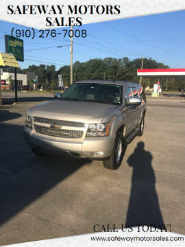 2007 Chevrolet Suburban for sale at Safeway Motors Sales in Laurinburg NC