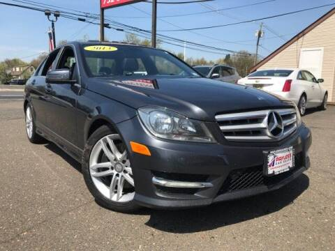 2013 Mercedes-Benz C-Class for sale at PAYLESS CAR SALES of South Amboy in South Amboy NJ