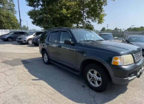 2003 Ford Explorer for sale at T-O-G Auto Sales, LLC. in Jonesboro GA