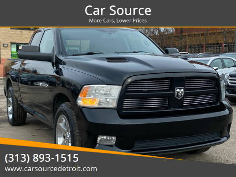 2012 RAM Ram Pickup 1500 for sale at Car Source in Detroit MI