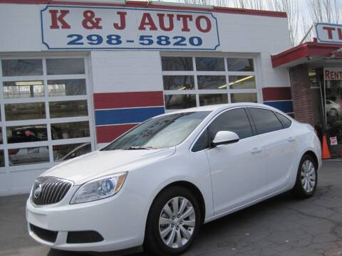 2016 Buick Verano for sale at K & J Auto Rent 2 Own in Bountiful UT