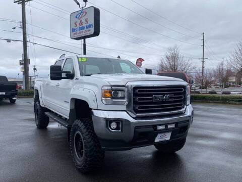 2015 GMC Sierra 2500HD for sale at S&S Best Auto Sales LLC in Auburn WA