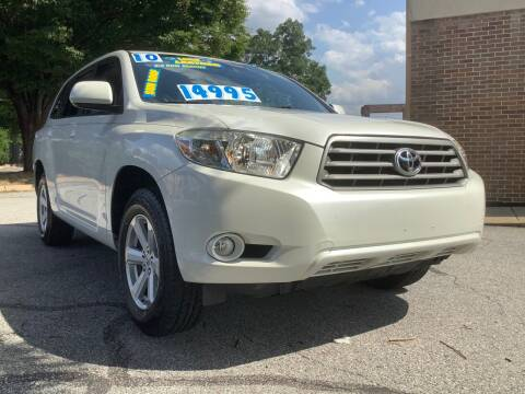 2010 Toyota Highlander for sale at Active Auto Sales Inc in Philadelphia PA