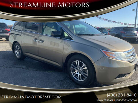 2012 Honda Odyssey for sale at Streamline Motors in Billings MT