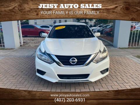2016 Nissan Altima for sale at JEISY AUTO SALES in Orlando FL