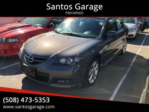 2007 Mazda MAZDA3 for sale at Santos Garage in Milford MA