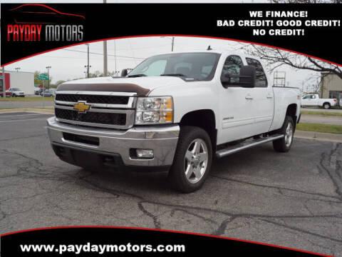 2012 Chevrolet Silverado 2500HD for sale at Payday Motors in Wichita And Topeka KS