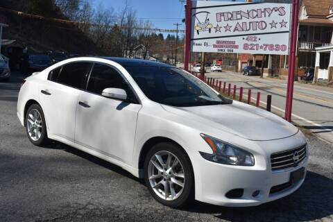 2010 Nissan Maxima for sale at Frenchy's Auto LLC. in Pittsburgh PA
