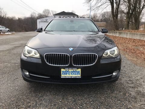 2012 BMW 5 Series for sale at Worldwide Auto Sales in Fall River MA