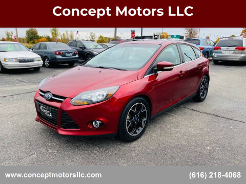 2014 Ford Focus for sale at Concept Motors LLC in Holland MI