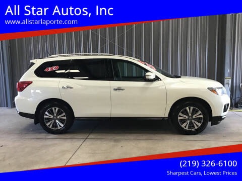 2017 Nissan Pathfinder for sale at All Star Autos, Inc in La Porte IN