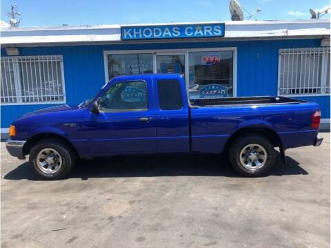 2003 Ford Ranger for sale at Khodas Cars in Gilroy CA