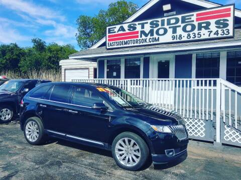 2013 Lincoln MKX for sale at EASTSIDE MOTORS in Tulsa OK