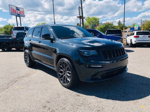 2016 Jeep Grand Cherokee for sale at Lion's Auto INC in Denver CO