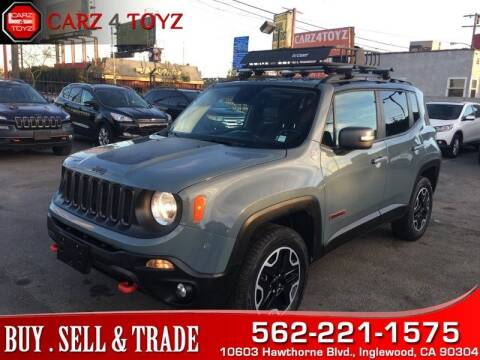 2016 Jeep Renegade for sale at Carz 4 Toyz in Inglewood CA