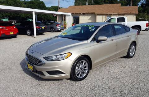 2017 Ford Fusion for sale at Bostick's Auto & Truck Sales in Brownwood TX