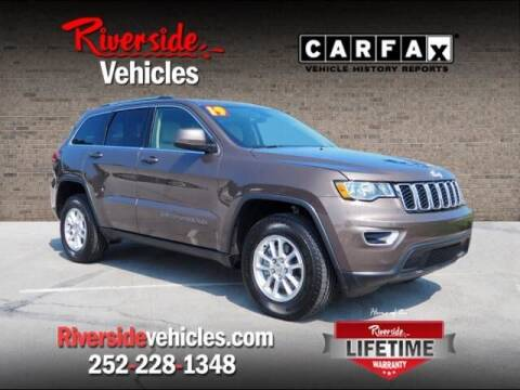 2019 Jeep Grand Cherokee for sale at Riverside Mitsubishi(New Bern Auto Mart) in New Bern NC