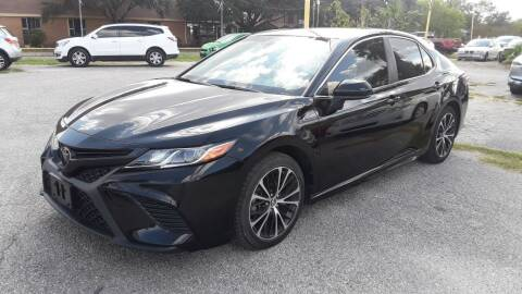2018 Toyota Camry for sale at RICKY'S AUTOPLEX in San Antonio TX