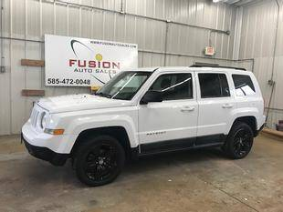 2011 Jeep Patriot for sale at FUSION AUTO SALES in Spencerport NY