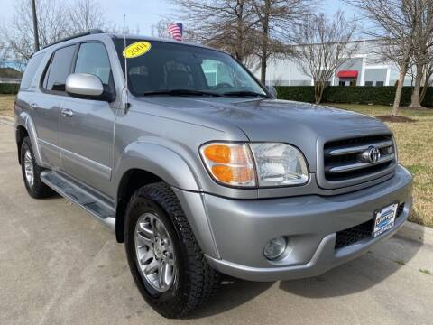 2004 Toyota Sequoia for sale at UNITED AUTO WHOLESALERS LLC in Portsmouth VA
