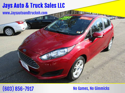 2015 Ford Fiesta for sale at Jays Auto & Truck Sales LLC in Loudon NH