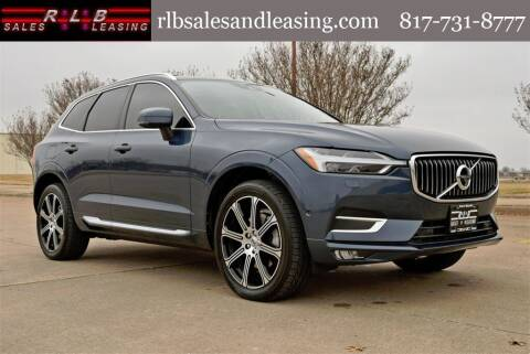 2018 Volvo XC60 for sale at RLB Sales and Leasing in Fort Worth TX