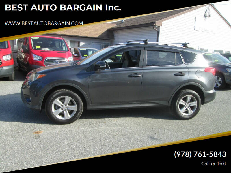 2013 Toyota RAV4 for sale at BEST AUTO BARGAIN inc. in Lowell MA