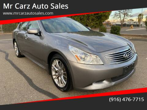 2008 Infiniti G35 for sale at Mr Carz Auto Sales in Sacramento CA