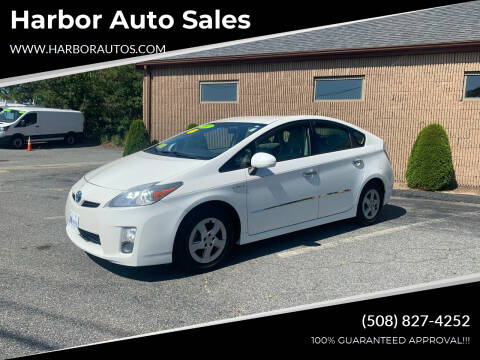 2011 Toyota Prius for sale at Harbor Auto Sales in Hyannis MA