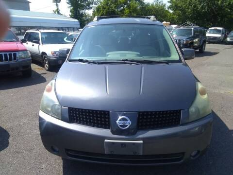 2005 Nissan Quest for sale at Wilson Investments LLC in Ewing NJ