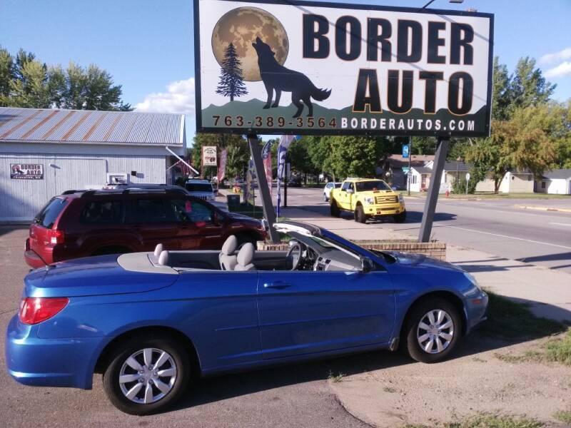 2008 Chrysler Sebring for sale at Border Auto of Princeton in Princeton MN