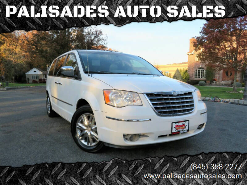 2008 Chrysler Town and Country for sale at PALISADES AUTO SALES in Nyack NY