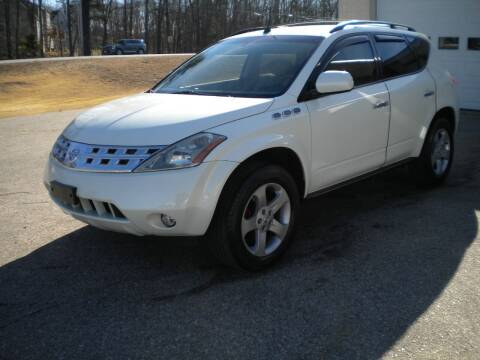 2005 Nissan Murano for sale at Route 111 Auto Sales in Hampstead NH