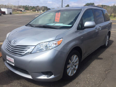 2017 Toyota Sienna for sale at Flambeau Auto Expo in Ladysmith WI