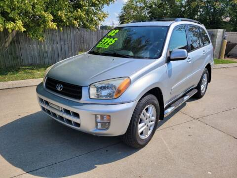 2002 Toyota RAV4 for sale at Harold Cummings Auto Sales in Henderson KY